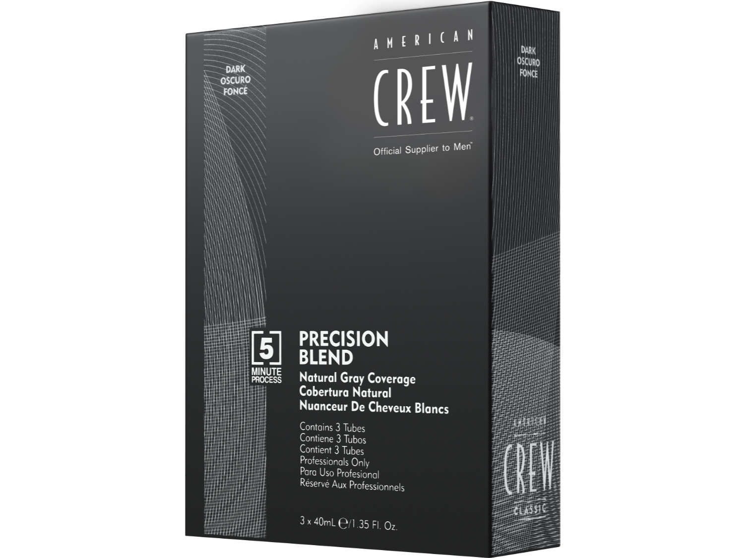 Arma Beauty - American Crew - Precision Blend Shades